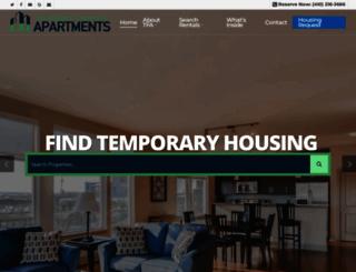 temporaryfurnishedapartments.com screenshot