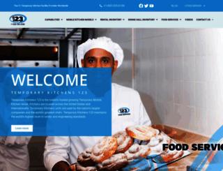 temporarykitchens123.com screenshot
