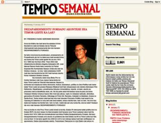 temposemanaltimor.blogspot.com.au screenshot