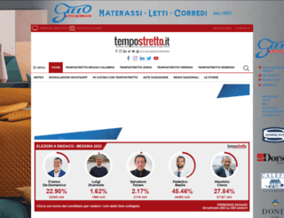 tempostretto.it screenshot