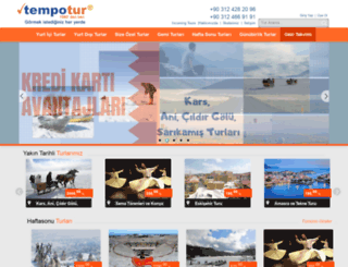 tempotour.com.tr screenshot