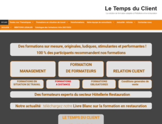 tempsduclient.com screenshot