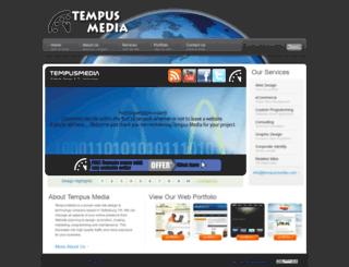 tempusmedia.com screenshot
