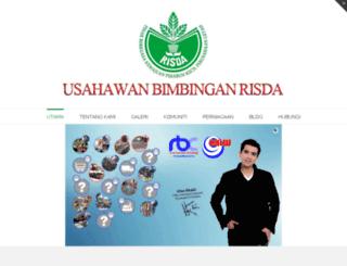 temusinar.usahawanrisda.com screenshot