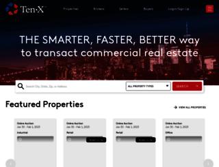 ten-x.com screenshot