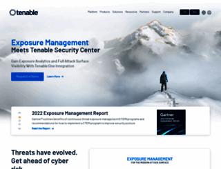 tenable.com screenshot
