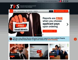 tenantverification.com screenshot