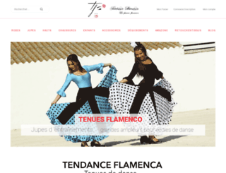 tendanceflamenca.fr screenshot