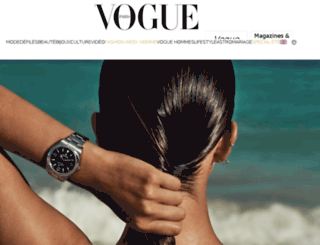 tendances.vogue.fr screenshot