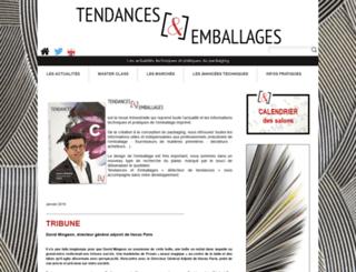 tendancesetemballages.fr screenshot