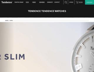 tendencewatches.com.au screenshot