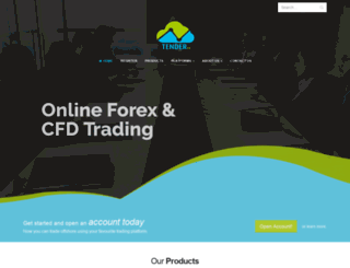 tenderfx.com screenshot