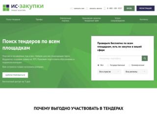 tenderhunter.ru screenshot