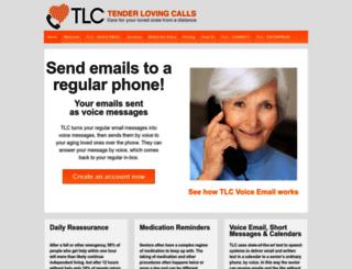 tenderlovingcalls.com screenshot