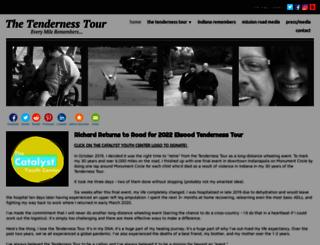 tendernesstour.com screenshot