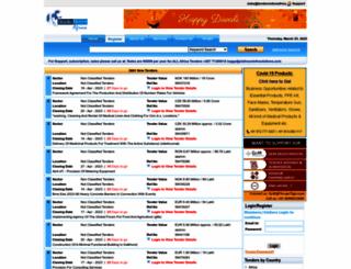 tendernoticeafrica.com screenshot