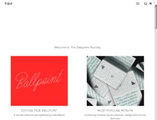 tendollarfonts.com screenshot