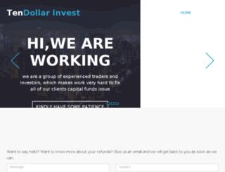tendollarinvest.com screenshot