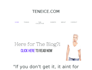 teneice.com screenshot
