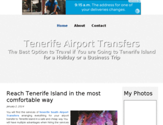 tenerifeairporttransfers.bravesites.com screenshot