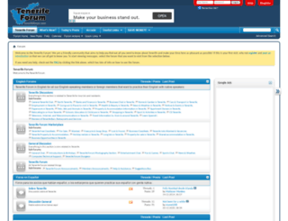 tenerifeforum.com screenshot