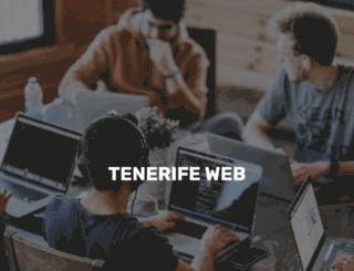 tenerifeweb.es screenshot