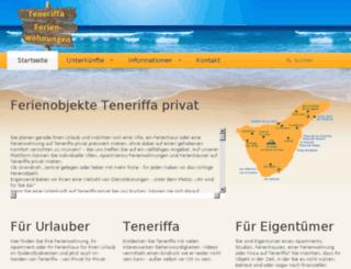 teneriffa-ferienwohnungen.org screenshot