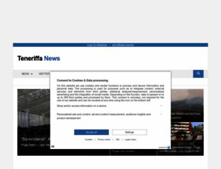 teneriffa-news.com screenshot