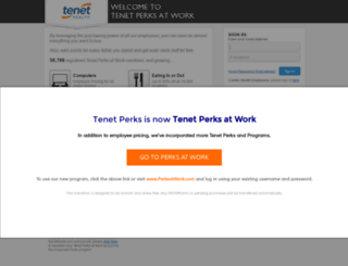 tenet.corporateperks.com screenshot