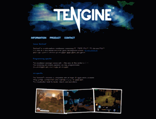tengine.se screenshot