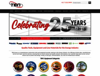tengroup.com.au screenshot
