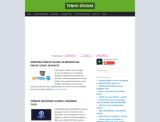 tenhodividas.com screenshot