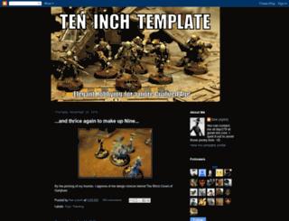 teninchtemplate.blogspot.com screenshot