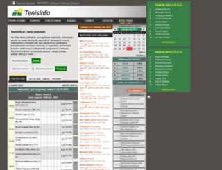 tenisinfo.pl screenshot