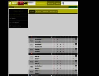tenislive.pl screenshot