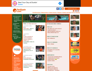 tenispain.com screenshot