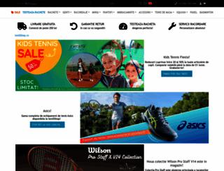 tenisshop.ro screenshot