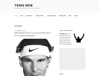 tenisweb.com screenshot