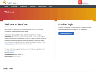 tenncare.magellanhealth.com screenshot
