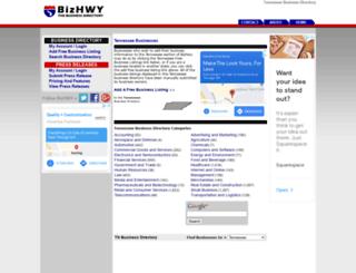 tennessee.bizhwy.com screenshot