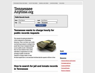 tennesseeanytime.org screenshot