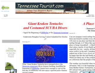tennesseetourist.com screenshot