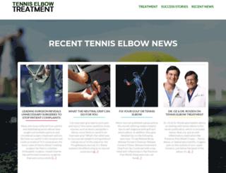 tennis-elbow.net screenshot
