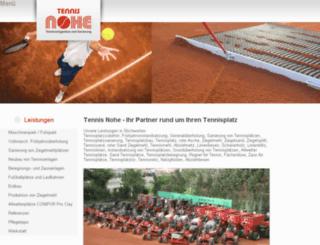 tennis-nohe.dev-m3.de screenshot