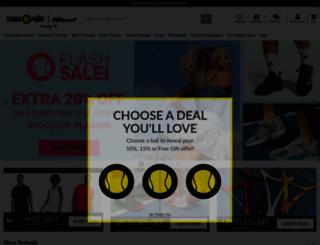 tennis-point.com screenshot