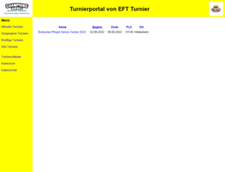 tennis-web.net screenshot