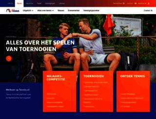 tennis.nl screenshot