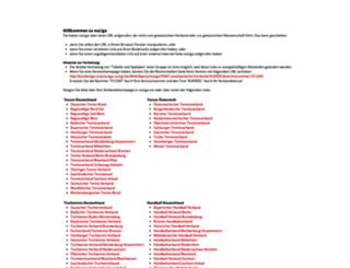tennisaustria.liga.nu screenshot