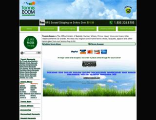 tennisboom.com screenshot