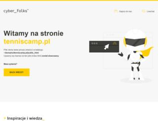 tenniscamp.pl screenshot